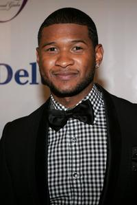 Usher Raymond at the Fifth Annual Grand Gala.