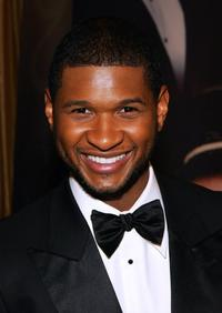 Usher Raymond at the 15th annual Trumpet Awards.