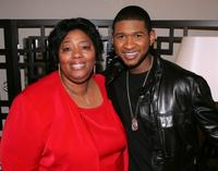Laurel Buttram and Usher Raymond at the Broadway play