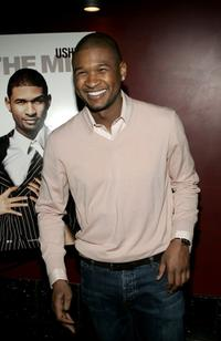 Usher Raymond at the screening of