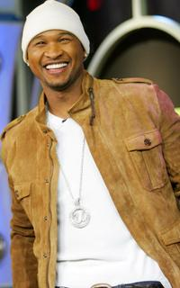Usher Raymond at the MTV's Total Request Live.