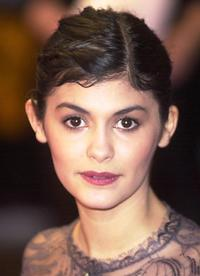 Audrey Tautou at the at the British Academy Film Awards.