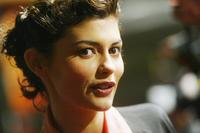 Audrey Tautou at the AFI Fest 2004 screening of