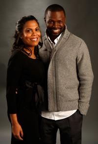 Sean Patrick Thomas and wife Aonika Laurent at the AFI FEST 2007.