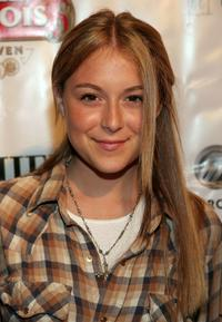 Alexa Vega at the premiere lounge after party of
