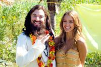 Mike Myers and Jessica Alba in