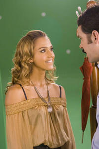 Jessica Alba and Paul Rudd in