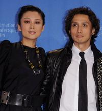 Chen Hong and Masanobu Ando at the photocall of