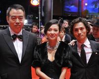 Chen Kaige, Zhang Ziyi and Masanobu Ando at the screening of