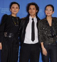 Chen Hong, Masanobu Ando and Zhang Ziyi at the photocall of