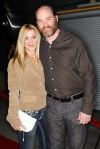 David Koechner and his guest at the premiere of