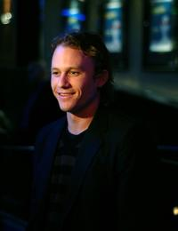 Heath Ledger at Toronto International Film Festival premiere of