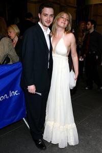 Eddie Kaye Thomas and Ari Graynor at the Broadway opening of