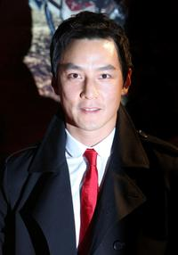 Daniel Wu at the world premiere of