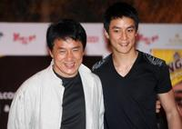 Jackie Chan and Daniel Wu at the promotion of