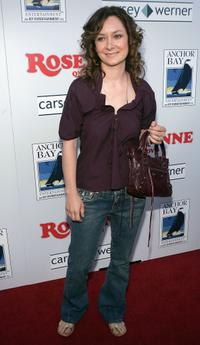 Sara Gilbert at the DVD launch of