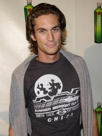 Oliver Hudson at the Tanqueray's launch party.