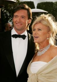 Hugh Jackman and Deborra-Lee Furessat the 2007 Vanity Fair Oscar Party.