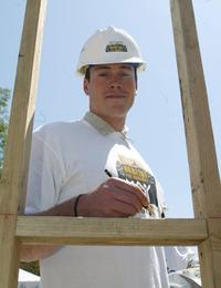 Chris Klein at the Hollywood for Habitat for Humanity.