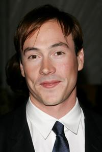 Chris Klein at the Metropolitan Museum of Art Costume Institute Benefit Gala
