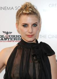 Melanie Laurent at the screening of