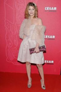 Melanie Laurent at the Cesar Film Awards.
