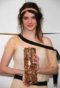 Melanie Laurent at the 32nd Cesar's film awards ceremony.