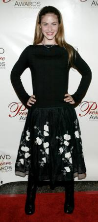 Caitlin Wachs at the DVD Premiere Awards.