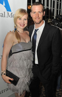 Kristin Booth and Graham Abbey at the Opening Night party of 2009 Toronto International Film Festival in Canada.