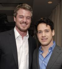 Eric Dane and T.R. Knight at the Gersh Agency pre-Emmy party.