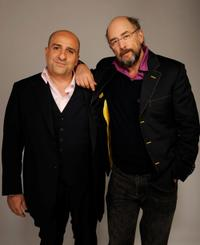 Omid Djalili and Richard Schiff at the Tribeca Film Festival 2010.