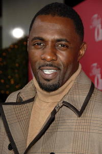 Actor Idris Elba at the Hollywood premiere of