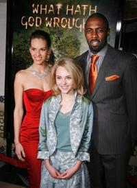 Hilary Swank, AnnaSophia Robb and Idris Elba at the Los Angeles premiere of