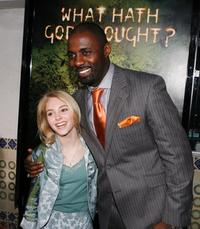 AnnaSophia Robb and Idris Elba at the premiere of