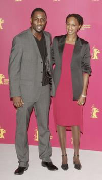 Idris Elba and Carole Karemera at the photocall of