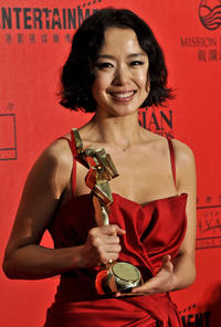 Jeon Do-yeon at the Asian Film Awards 2008 in Hong Kong.