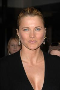Lucy Lawless at the