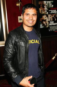 Michael Peña at the N.Y. premiere of
