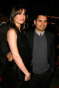 Michael Peña and Marie Schaeffer at the L.A. premiere of
