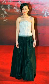 Zhou Xun at the 28th Hong Kong Film Awards 2009.
