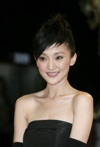 Zhou Xun at the premiere of