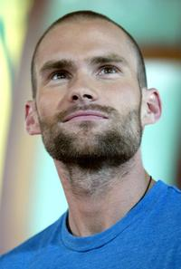 Seann William Scott at the MTV's Total Request Live.