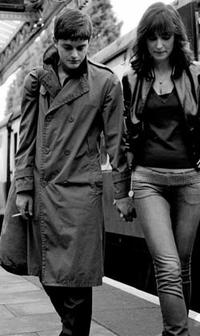 Anton Corbijn and Alexandra Maria Lara in