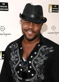 Rockmond Dunbar at the Nanette Lepore and the Creative Coalition's Fashion Votes event.
