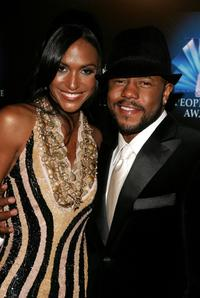 Ivy and Rockmond Dunbar at the 32nd Annual People's Choice Awards After Party.