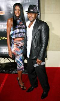 Rockmond Dunbar and Guest at the 2007 BET Awards.