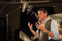 Craig Ferguson on the set of