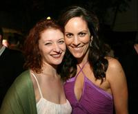 Annabeth Gish and Kerry O'Malley at the after party for the screening of