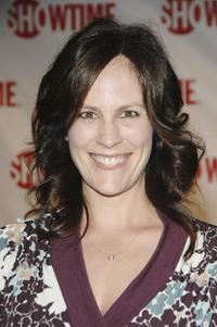 Annabeth Gish at the premiere of Showtime's