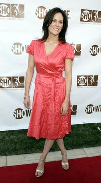 Annabeth Gish at the Showtime's 30th Anniversary and Summer 2006 TCA party at a private residence.